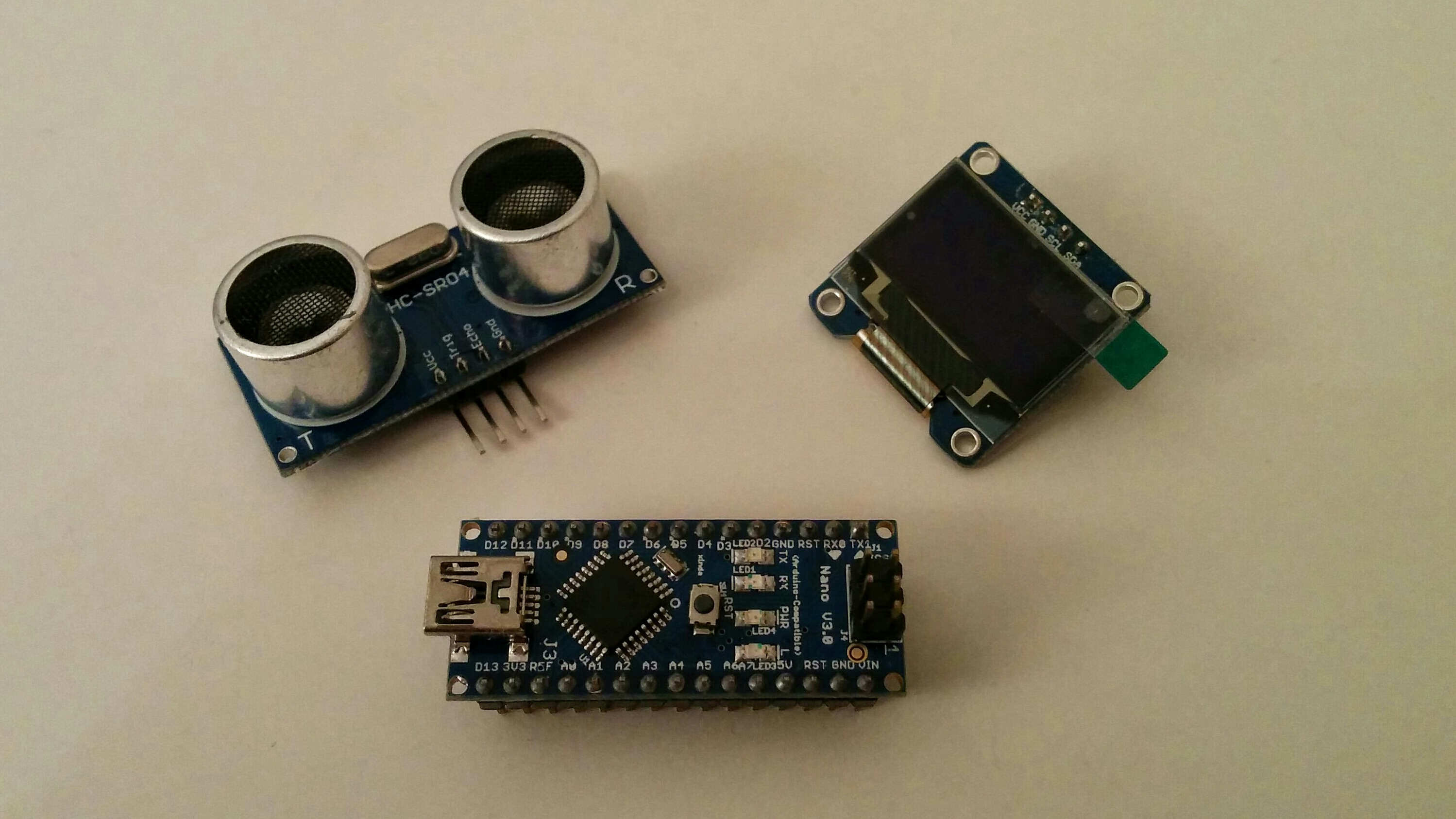 Sensors Electropit Electronics Mini Projects Circuit Rangefinder Project